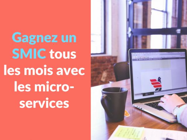 Miniature - Gagnez un SMIC tous les mois avec les micro services