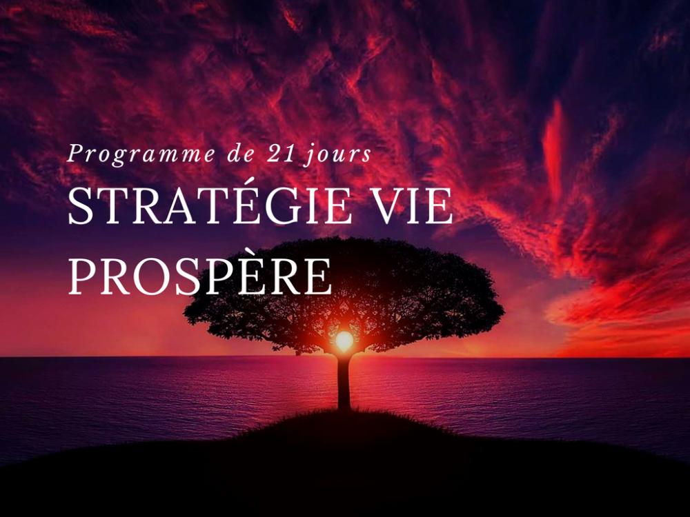 Strategie vie prospere